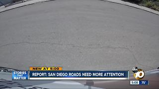 Report: San Diego roads needs more attention - Video
