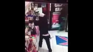 Armed robbery at K-Square  gas station in Naples - Video