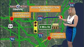 Westbound I-696 closing in Oakland County for third straight weekend