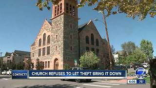 Church refuses to let theft bring it down - Video