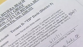Recall petitions rejected in Riviera Beach - Video