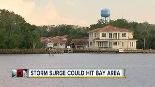 Storm surge from Tropical Storm Michael could hit Tampa Bay area