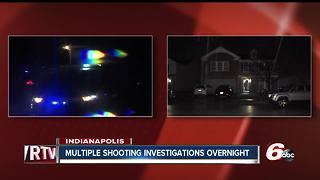 Five shootings in six hours during for violent night in Indianapolis - Video