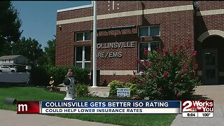 Collinsville ISO rating improves