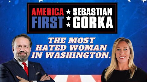 The most hated woman in Washington. Marjorie Taylor Greene with Dr. Gorka on AMERICA First