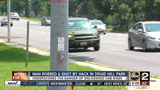 Man robbed & shot by hack in Druid Hill Park - Video
