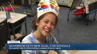 Gov. Whitmer encouraging all K-12 schools in Michigan to offer in-person learning by March 1