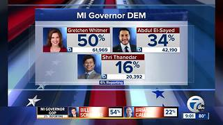 Michigan primary election update at 9 p.m. - Video