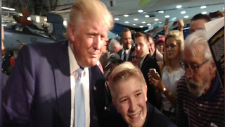 President Trump's teenage protege heads to D.C. for State of the Union - Video