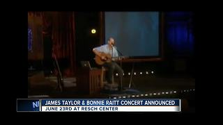 James Taylor coming to the Resch Center - Video