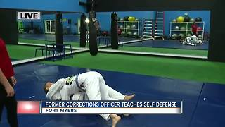 Learn self defense with former corrections officer of Lee County - Video