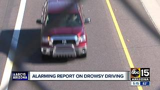 Drowsy driving is more prevalent than you might think - Video