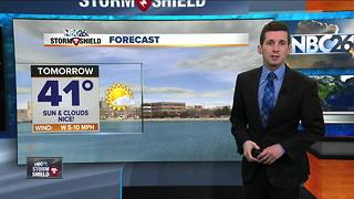 Dry weather continues into Monday - Video