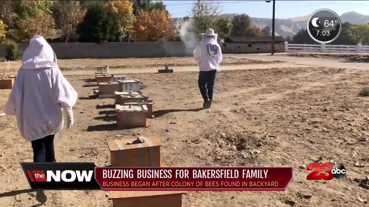 Buzzing business for Bakersfield family