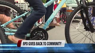 Boise police give bicycles to children in need - Video