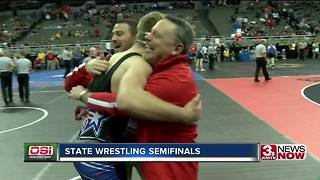 State Wrestling Semifinals Highlights