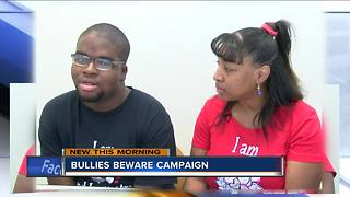Local family teams up to support bully victims