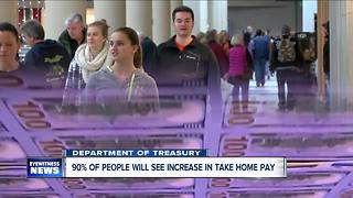 Taxpayers will see an increase in take-home pay - Video