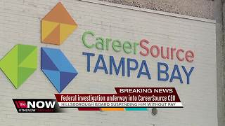 CareerSource board suspends CEO without pay, accused of inflating job placement numbers - Video