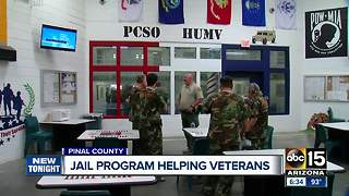 Jail program helping veterans behind bars
