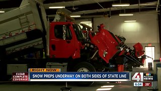 How crews are prepping for the winter weather