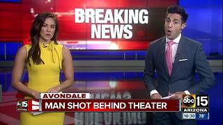 Man shot behind Harkins movie theater - Video