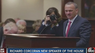 Richard Corcoran new Speaker of House - Video