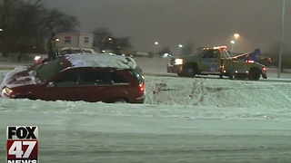Road conditions cause accidents, take it slow - Video