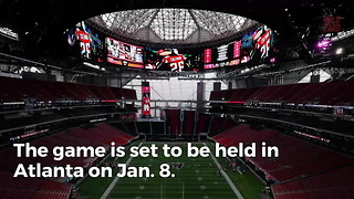 President Donald Trump To Attend Georgia/Alabama Championship Game - Video