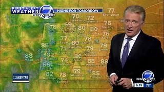 Some great weather for Denver now, but not next weekend - Video