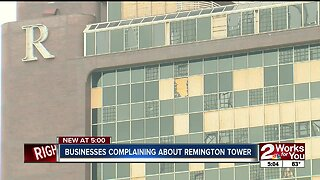 What's next for the tornado-damaged Remington Tower?