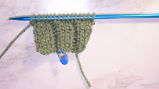 How to Knit the 3 x 2 Rib Stitch