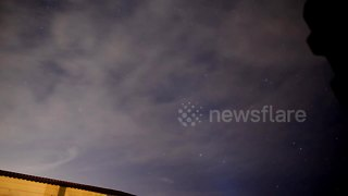 Impressive time-lapse Geminid Meteor Shower footage seen from Florida - Video
