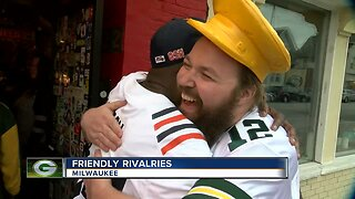 Milwaukee friends divided as rivals play in two sports