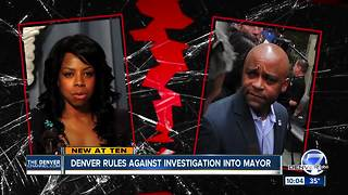 Council is against investigating Denver's mayor, doesn't want to re-victimize woman - Video