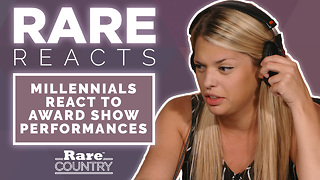 Millennials React to Award Show Performances | Rare Reacts - Video