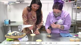 Halloween-inspired cookies with LadyCakes in Cape Coral