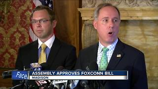 Foxconn package passes State Assembly - Video