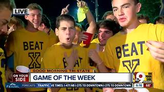 Moeller High School band prepares for Friday's game against St. Xavier - Video