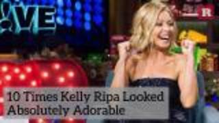 10 Times Kelly Ripa Looked Absolutely Adorable | Rare People - Video
