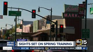 Gilbert working to lure spring training visitors - Video