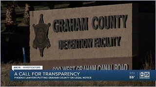 Graham county facing $5 Million dollar lawsuit after in-custody death of inmate