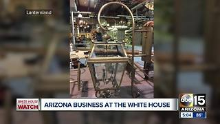 Arizona business being honored at White House - Video