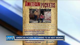 History Channel's 'American Pickers' will be filming in Wisconsin - Video