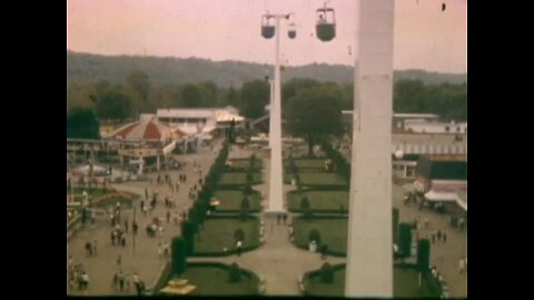Coney Island 1971: See the Log Flume, Sky Ride