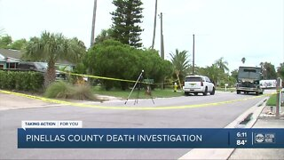 Pinellas County deputies conduct death investigation