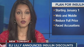 Eli Lilly announces insulin discounts - Video