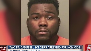 Fort Campbell Soldiers Charged With Homicide - Video