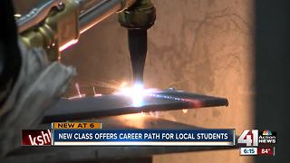 New class offers career path for local students - Video