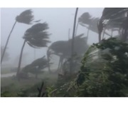 Typhoon Mangkhut Leaves Damage and Power Outages in Mariana Islands